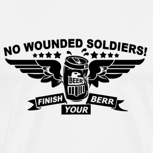 No Wounded - Men's Premium T-Shirt