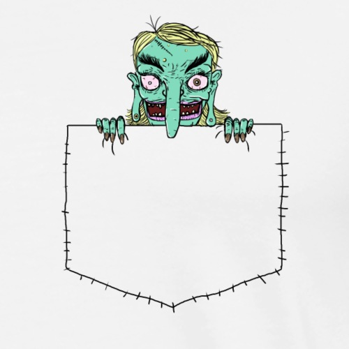 Pocket Trolls - Men's Premium T-Shirt