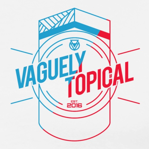 Vaguely Topical Insignia - Men's Premium T-Shirt
