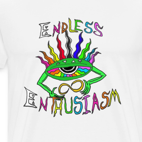 Endless Enthusiasm Logo - Men's Premium T-Shirt