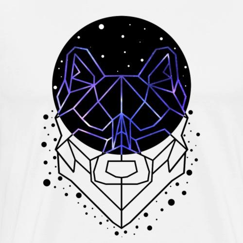 GEOMETRIC WOLF - Men's Premium T-Shirt