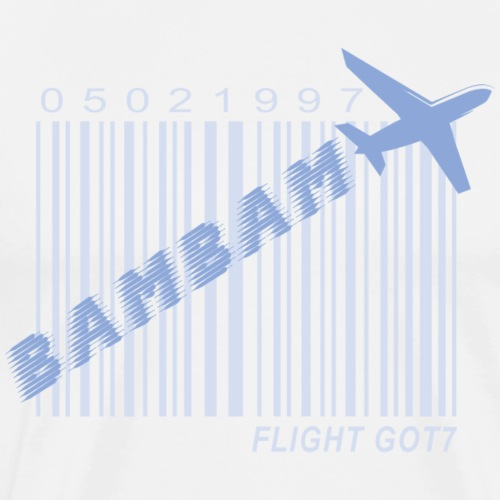 Got7_BamBam_Flight Log - Men's Premium T-Shirt