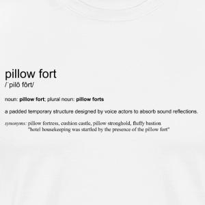 Pillow Fort Dictionary - Men's Premium T-Shirt