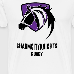 Charm City Knights Supporters - Men's Premium T-Shirt