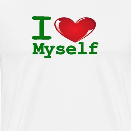 i Love Myself -Green- Best Selling Design - Men's Premium T-Shirt