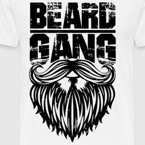 BEARD T-SHIRT - Men's Premium T-Shirt