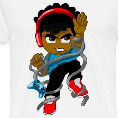 Tied up Gaming - Men's Premium T-Shirt