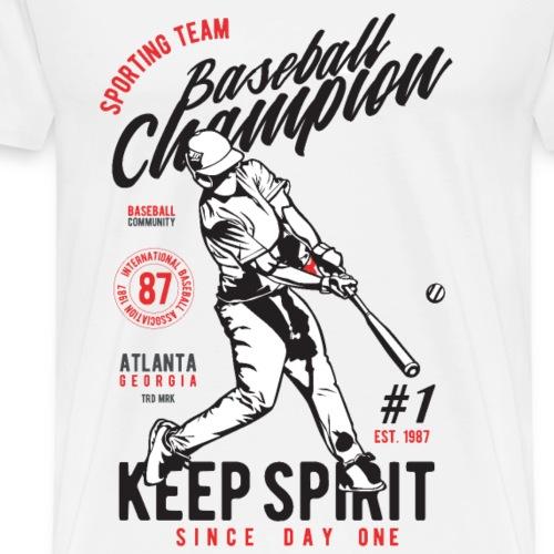 Baseball Champion - Men's Premium T-Shirt