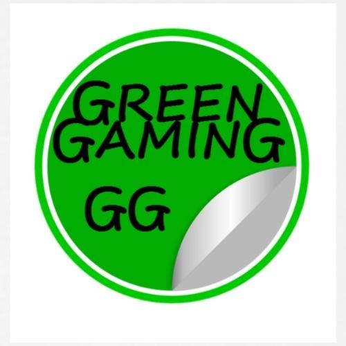 Green Gaming Logo - Men's Premium T-Shirt