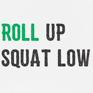 ROLL UP SQUAT LOW - Men's Premium T-Shirt