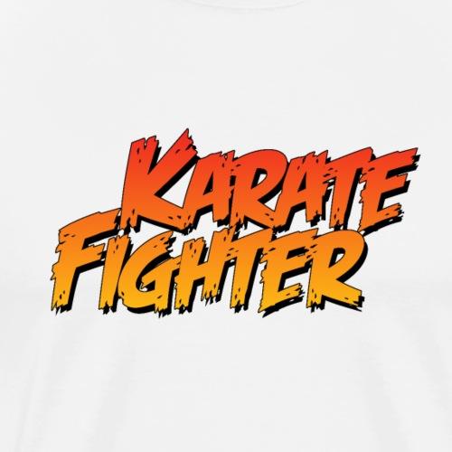 Karate Fighter - Men's Premium T-Shirt