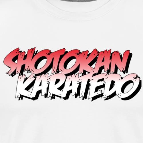 Shotokan Fighter - Men's Premium T-Shirt