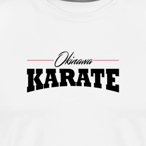 Okinawa Karate Desgin - Men's Premium T-Shirt