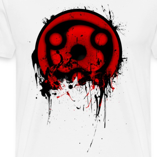 Madara's Mangekyou Sharingan - Men's Premium T-Shirt