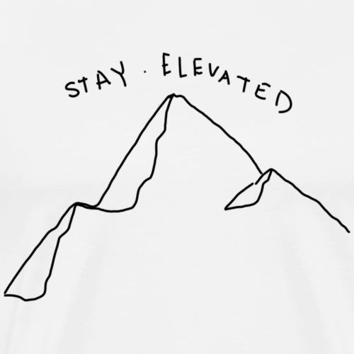 Elevated Doodle - Men's Premium T-Shirt