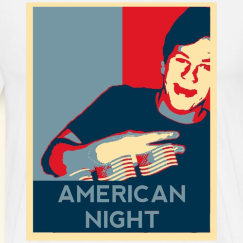 American Night - Men's Premium T-Shirt