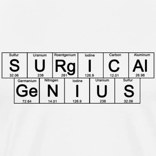 Periodic Table: Surgical Genius - Men's Premium T-Shirt