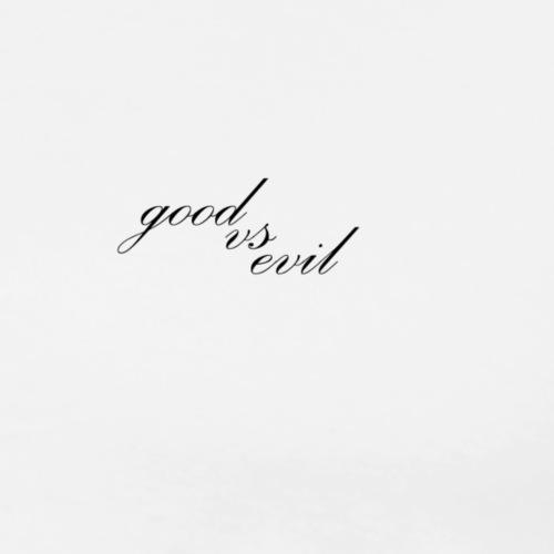 good vs evil - Men's Premium T-Shirt