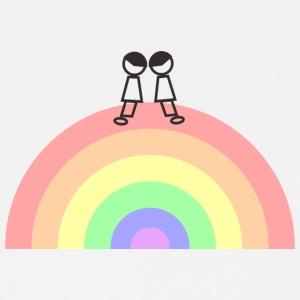 rainbow BOY - Men's Premium T-Shirt
