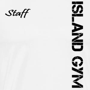 Island Gym Staff 001 - Men's Premium T-Shirt