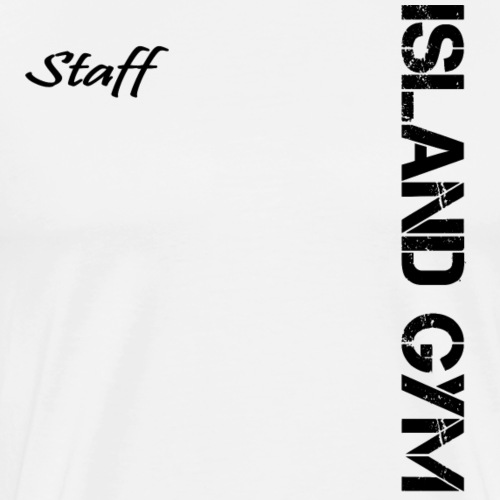 Island Gym Staff 001 - Men's Premium T-Shirt