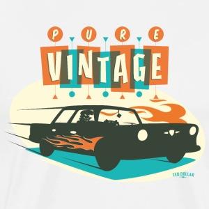 Pure Vintage car 4 - Men's Premium T-Shirt