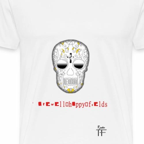 Skull head - Men's Premium T-Shirt