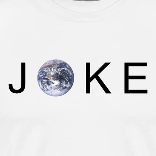 JOKE | Earth - Men's Premium T-Shirt