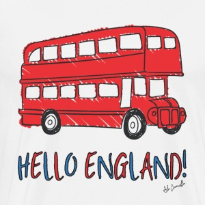 HELLO ENGLAND! - Men's Premium T-Shirt