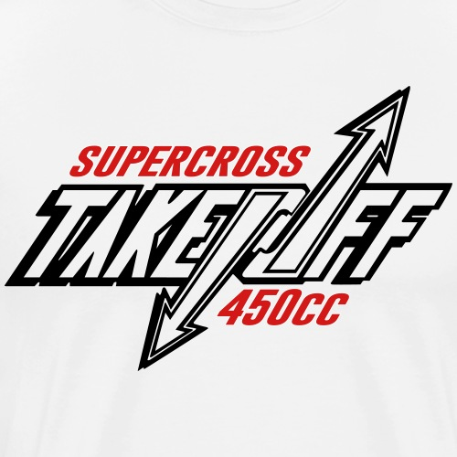 TakeOff-Supercross450cc - Men's Premium T-Shirt
