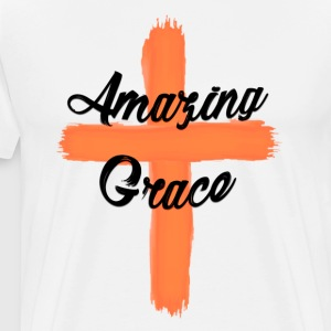 Cross of Grace - Men's Premium T-Shirt