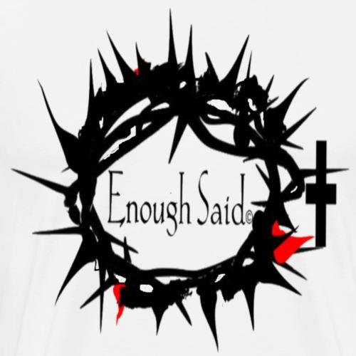 RELIGIOUS DESIGN CROWN OF THORNS - Men's Premium T-Shirt