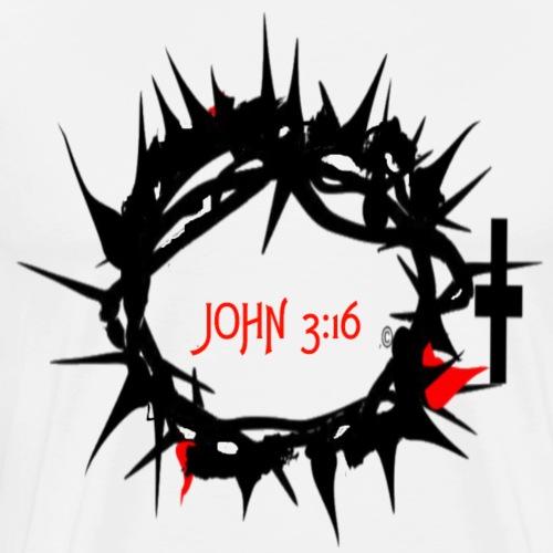 JOHN316 CROWN - Men's Premium T-Shirt