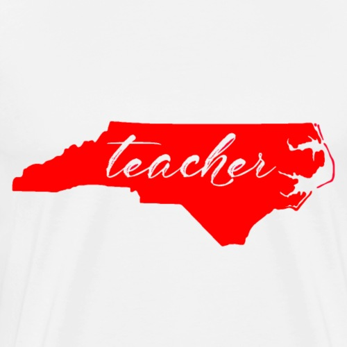 Teacher- Red - Men's Premium T-Shirt