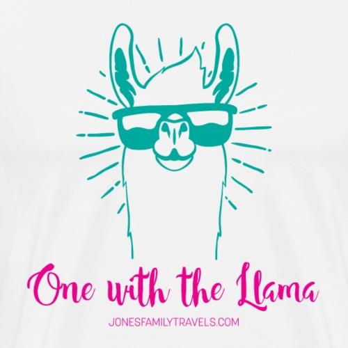 One with the Llama - Men's Premium T-Shirt