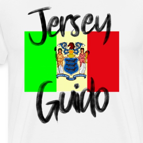 Jersey GuidoProud Italalian Team Italian USAFamily - Men's Premium T-Shirt