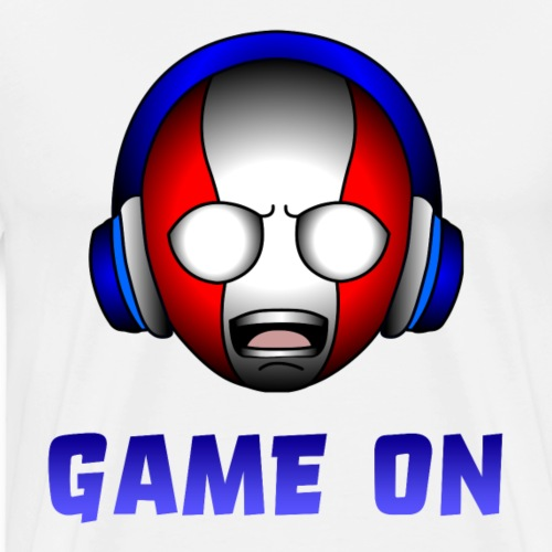 meta hero game on - Men's Premium T-Shirt