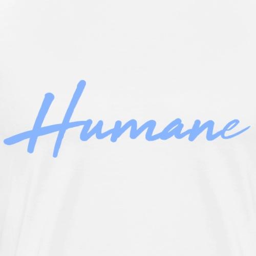 HUMANe Blue - Men's Premium T-Shirt