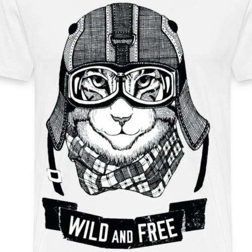 Wild and free - Men's Premium T-Shirt