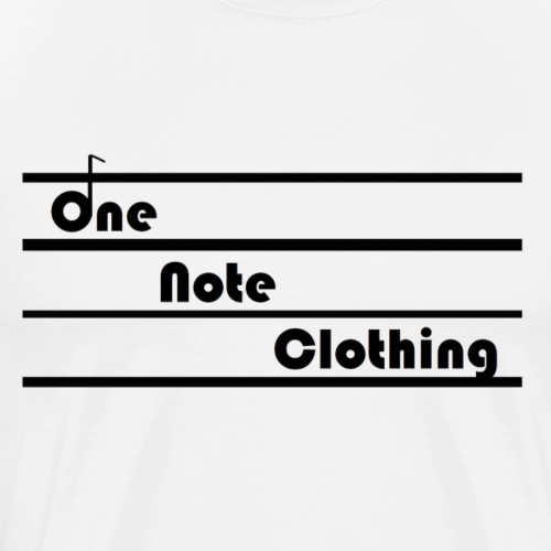 Classic One Note Clothing Logp - Men's Premium T-Shirt