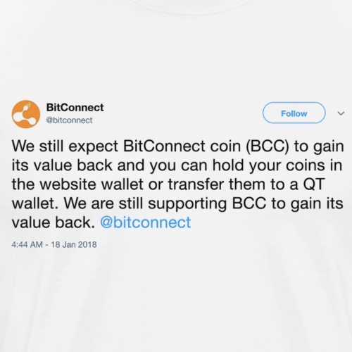 BCC Tweet - Men's Premium T-Shirt