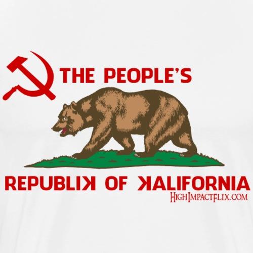 Peoples republic of california - Men's Premium T-Shirt