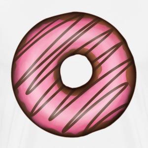 Pink Doughnut - Men's Premium T-Shirt