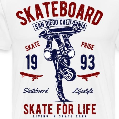 Skate For Life - Men's Premium T-Shirt