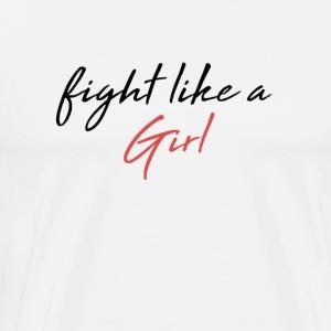 Fight Girl - Men's Premium T-Shirt