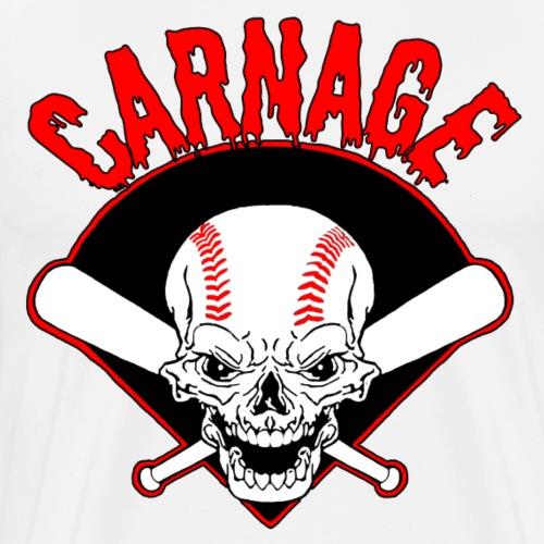 Carnage Logo Red - Men's Premium T-Shirt