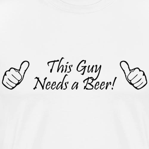 thisguy - Men's Premium T-Shirt