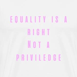 Equality Pink - Men's Premium T-Shirt
