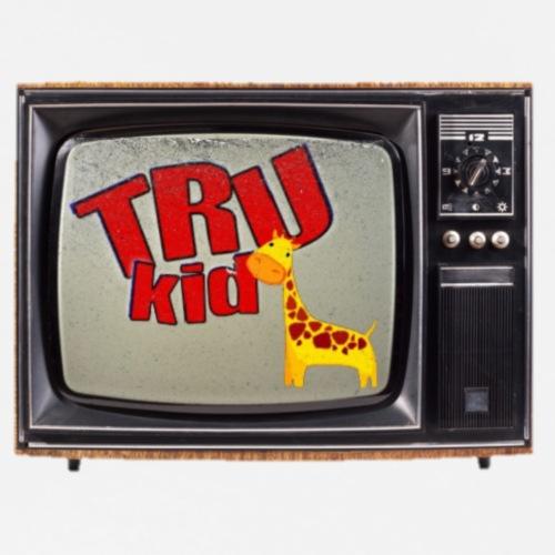 TRU Kid TV Set Retro - Men's Premium T-Shirt