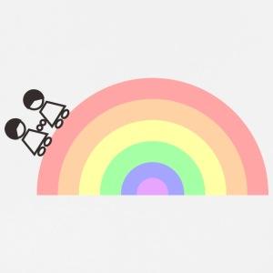 rainbow GIRL - Men's Premium T-Shirt